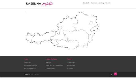 RASENNA_projekte …ist Online