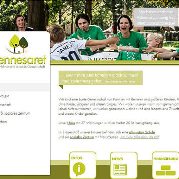 Eröffnungsfeier am 1.10.: Das Wohnprojekt Gennesaret in Wien ist fertig!