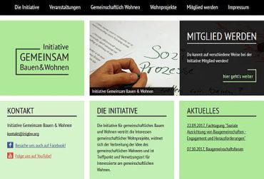 Neue Website der Initiative ist online!