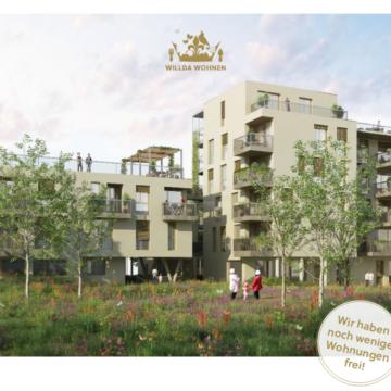 Frei gewordene Wohnungen im Wohnprojekt WILLDAwohnen