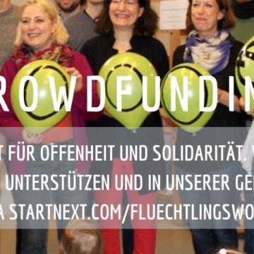 Hilf uns beim Helfen – Wir startet eine Crowdfunding-Kampagne